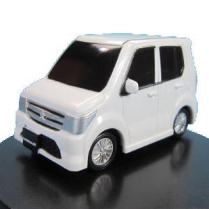 海洋堂 カプセルQ スズキデフォルメ軽自動車 05.ワゴンR(白)