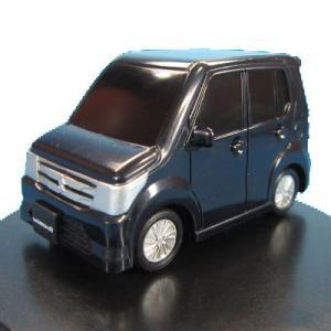 海洋堂 カプセルQ スズキデフォルメ軽自動車 06.ワゴンR(黒)