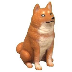 アイピーフォー むにゃむにゃ 柴犬 01.茶おすわり(やわらか素材)|omochayaya