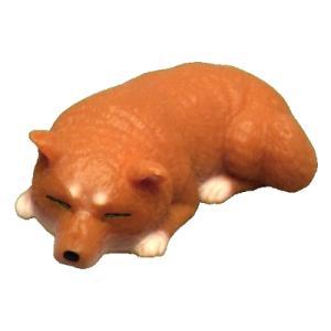 アイピーフォー むにゃむにゃ 柴犬 03.茶ねそべり(やわらか素材)|omochayaya