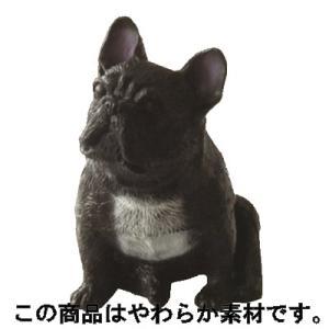 アイピーフォー むにゃむにゃ フレンチブルドッグ パイド&ブリンドル 02.おすわり(ブリンドル)黒|omochayaya