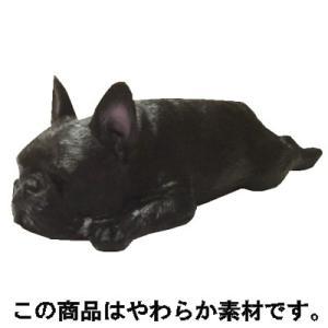 アイピーフォー むにゃむにゃ フレンチブルドッグ パイド&ブリンドル 04.ねそべり(ブリンドル)黒|omochayaya