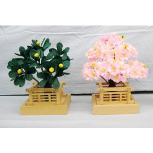 雛人形 雛祭り お雛様 用品 香花 桜橘 木製 手作り 工芸品 #2 (サイズ中6号:約18cm)|omomax