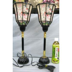 雛人形 雛祭り お雛様 用品 雪洞(ぼんぼり) 灯り コンパクト コード付き #10 (サイズ:約47cm)|omomax