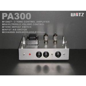 真空管トーンコントロールアンプ組立キット PA300 (加工済シャーシ付き)