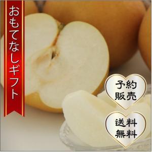 おもてなしギフト 市川梨 200年の梨作りのヤマニ果樹農園の育てた市川の梨 豊水 3kg(6〜8個入り)|omotenashigift