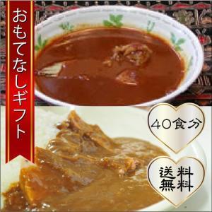 おもてなしギフト カレー 東京スパイシーフーズの大人の保存食 2種類のレトルトカレーを40食分|omotenashigift