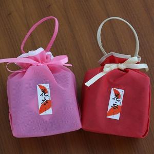 おもてなしギフト 創作塩昆布巾着2袋セット 有機醤油塩昆布 花塩昆布|omotenashigift|05