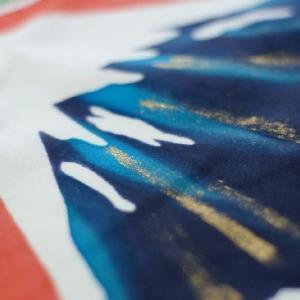 おもてなしギフト 神奈川県内には1軒になってしまった手で描き、手で染める祝いの大漁旗(龍柄)|omotenashigift|05