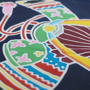 おもてなしギフト 神奈川県内には1軒になってしまった手で描き、手で染める祝いの大漁旗(兜柄)|omotenashigift|04