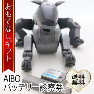 おもてなしギフト AIBOバッテリー診察券 メーカー保証終了|omotenashigift