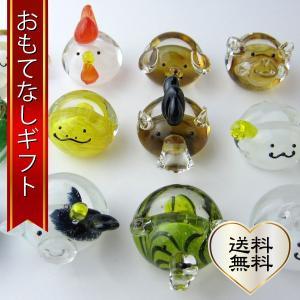 おもてなしギフト 小樽ガラス 贈る人の干支に合わせたメッセンジャーがメッセージカードを届けます|omotenashigift