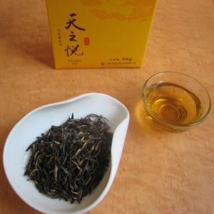 おもてなしギフト お茶(黄茶) 茶房茉莉花が直接買い付けた 君山黄茶 天之悦(150g)|omotenashigift|02