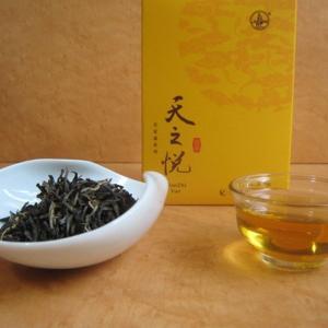 おもてなしギフト お茶(黄茶) 茶房茉莉花が直接買い付けた 君山黄茶 天之悦(150g)|omotenashigift|03