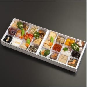 おもてなしギフト お節料理 中津川宿の老舗 上見屋の特製 2段重ね お節料理 24種の手作り 生おせち|omotenashigift|05