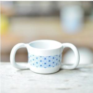 おもてなしギフト 織部焼 土岐の隆月窯の伝統工芸士 陶工 土田育弘が作るベビーマグカップ|omotenashigift|04