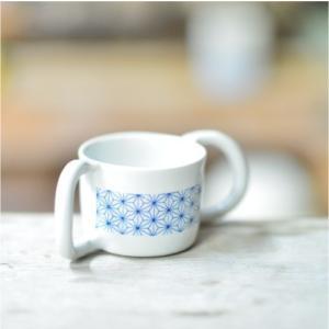 おもてなしギフト 織部焼 土岐の隆月窯の伝統工芸士 陶工 土田育弘が作るベビーマグカップ|omotenashigift|05