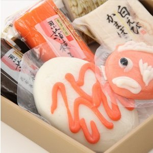おもてなしギフト 細工かまぼこ 魚津の尾崎かまぼこ館オリジナルの細工かまぼこを代表する鯛のかまぼことお絵描きかまぼこのセット(B)|omotenashigift|06