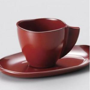 おもてなしギフト コーヒーカップ 魚津漆器の唯一のお店 鷹休漆器店が漆器で作った珈琲カップセット ペア|omotenashigift|02