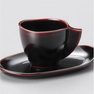 おもてなしギフト コーヒーカップ 魚津漆器の唯一のお店 鷹休漆器店が漆器で作った珈琲カップセット ペア|omotenashigift|03