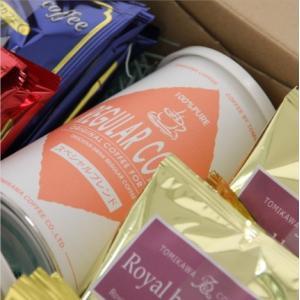 おもてなしギフト コーヒー豆 富山県魚津の毎日焙煎するとみかわ珈琲のドリップコーヒーパックとコーヒー豆のセット(A2)|omotenashigift|05