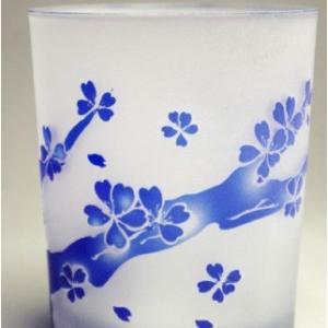 おもてなしギフト 被せガラス ロックグラス 瑠璃色|omotenashigift|02