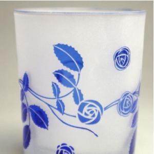 おもてなしギフト 被せガラス ロックグラス 瑠璃色|omotenashigift|05