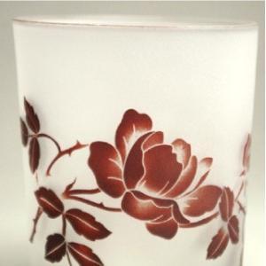 おもてなしギフト 被せガラス ロックグラス 赤銅色|omotenashigift|03
