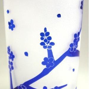 おもてなしギフト 被せガラス タンブラー 瑠璃色|omotenashigift|06