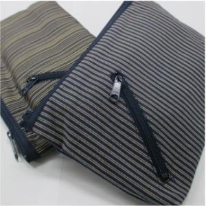 おもてなしギフト 双子織五点セット 縞模様の素朴な感じ、艶やかな肌触りが特徴の蕨の双子織|omotenashigift|05