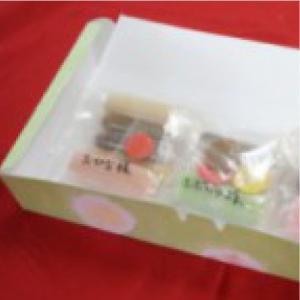 おもてなしギフト 手作り和菓子 山形のかすり家本店の自分で作る和菓子キット 端午の節句 omotenashigift 02