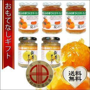 おもてなしギフト マーマレード 湘南の風かおる、柑橘マーマーレード5個ギフトセット|omotenashigift