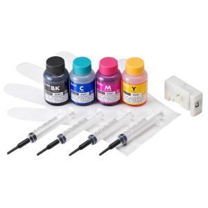 サンワサプライ 詰め替えインクLC211・LC213・215・217対応 INK-LC213BS60R omotenasi-shop-pro