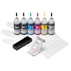 サンワサプライ 詰め替えインクBCI-370PGBK・371BK・C・M・Y・GY用 INK-C371S30S6 omotenasi-shop-pro