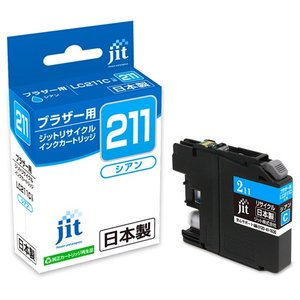 サンワサプライ リサイクルインクカートリッジLC211C対応 JIT-B211C|omotenasi-shop-pro