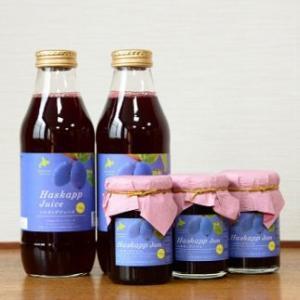 ハスカップ詰合せ〜ジュース500ml×2本・ジャム150g×3瓶(お歳暮のし対応可) omotesando-club