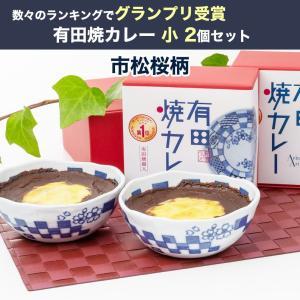 有田焼カレー (市松桜) 小280g×2個 ギフトセット 28種類のスパイスを使用/佐賀県産さがびより使用(お歳暮のし対応可)|omotesando-club