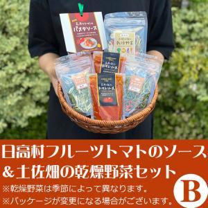 日高村フルーツトマトのソースと土佐畑の乾燥野菜セットB(お歳暮のし対応可)|omotesando-club