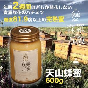 (27日9:59まで4倍)森羅万象 はちみつ 天山蜂蜜 600g 年間でわずか二週間ほどしか開花しない貴重な花の蜜|omotesando-club