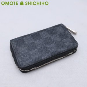【002】Louis Vuitton ルイヴィトン ダミエグラフィット ジッピーコインパース N63...