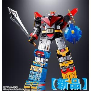 空雷王、海鳴王、陸震王の3機のロボットが合体すると宇宙大帝ゴッドシグマに! GX-60として超合金魂...