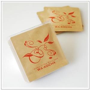 【ティーパックギフトセット】Aroma of Teaシリーズ 深蒸し茶5袋ケース入り・和紅茶5袋ケース入り 贈答箱入1,500円 omuraen 02