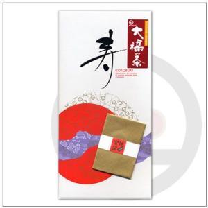 【季節限定茶】正月用茶「大福茶」純金箔付き 880円 omuraen