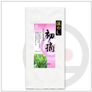 【緑茶ギフトセット】深むし初摘100g 茶袋2本セット 箱入り 2,812円 omuraen 02