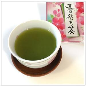 【お茶と急須のセット】 春待ち茶と常滑焼アイボリー急須セット|omuraen|02