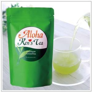 【Aloha Ken's Tea】掛川産深蒸し茶 リーフ 90g 1080円|omuraen|03