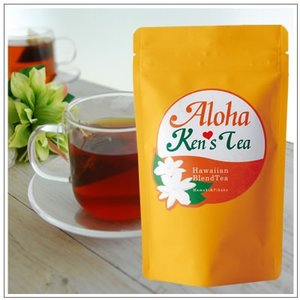 【Aloha Ken's Tea】ハワイアンブレンドフレーバーティ〜ハワイ産ママキ&ジャスミン茶&静岡産和紅茶10煎パック 3g×10個 1080円|omuraen|04