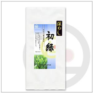 【緑茶〜深蒸し茶】掛川からお届け。 深むし初緑100g 648円 omuraen
