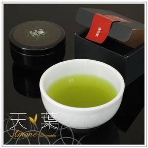 【最高級掛川深蒸し茶】天葉プレミアム つゆひかり 30g・缶入 1,080円|omuraen