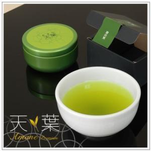 【最高級掛川深蒸し茶】天葉プレミアム さえみどり 30g・缶入 1,080円|omuraen